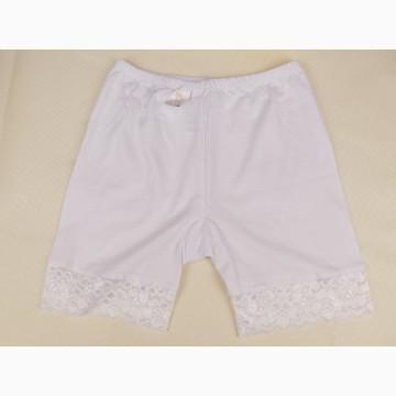 Панталоны женские с кружевом (белые)